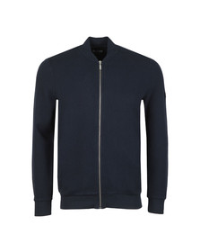 Barbour International Mens Blue Grip Full Zip Sweat