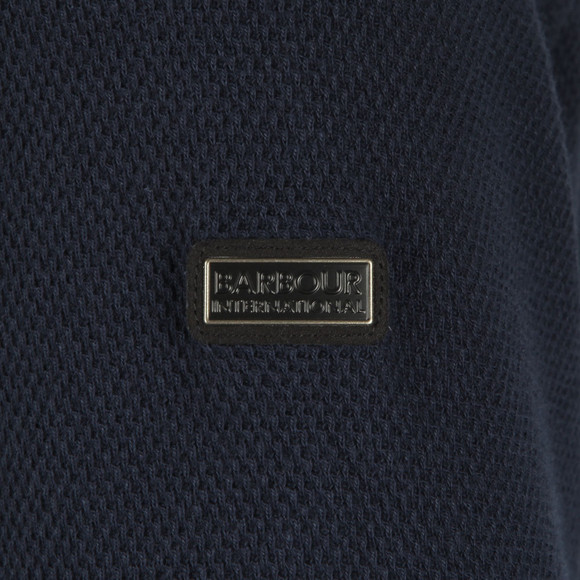 Barbour International Mens Blue Grip Full Zip Sweat main image
