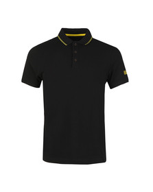 Barbour International Mens Black S/S Plain Polo
