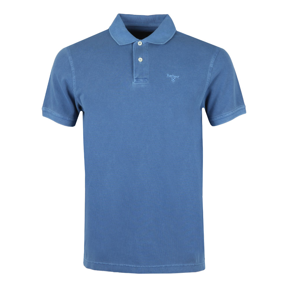 S/S Washed Sports Polo main image