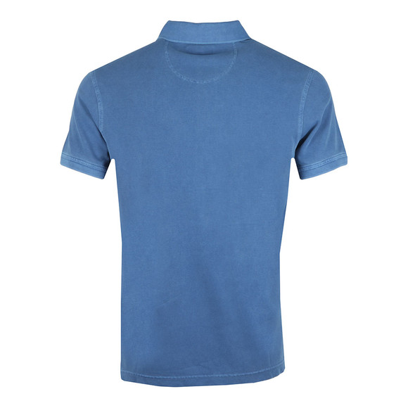 Barbour Lifestyle Mens Blue S/S Washed Sports Polo main image