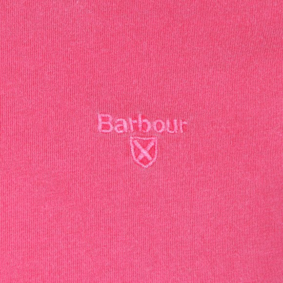 Barbour Lifestyle Mens Pink S/S Dyed Tee main image