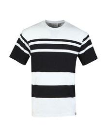Carhartt Mens White Orlando Stripe T-Shirt