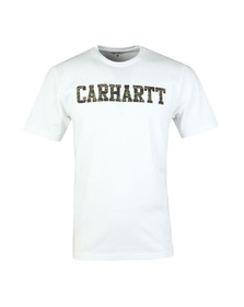 Carhartt Mens White College T Shirt