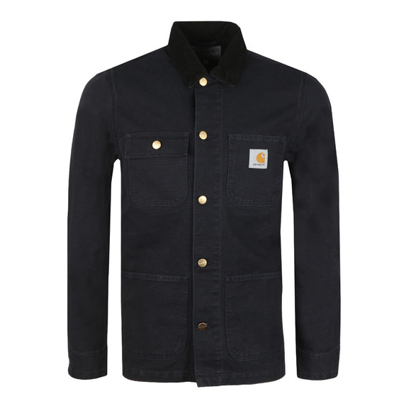 Carhartt Mens Blue Michigan Chore Coat main image