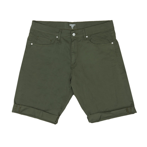 Carhartt WIP Mens Green Swell Short