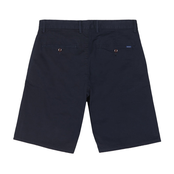 Gant Mens Blue Relaxed Twill Short main image