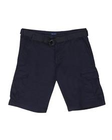 Gant Mens Blue Belted Relaxed Short