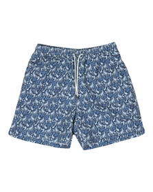 Hackett Mens Blue Tear Drops Swim Short