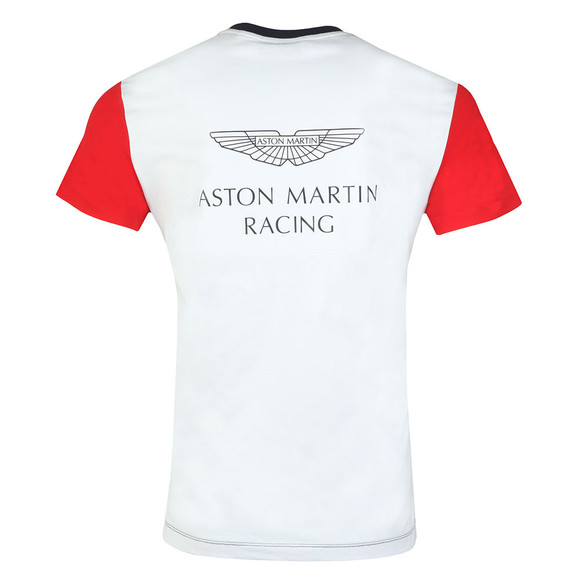 Hackett Mens Blue S/S AMR Wings Tee main image