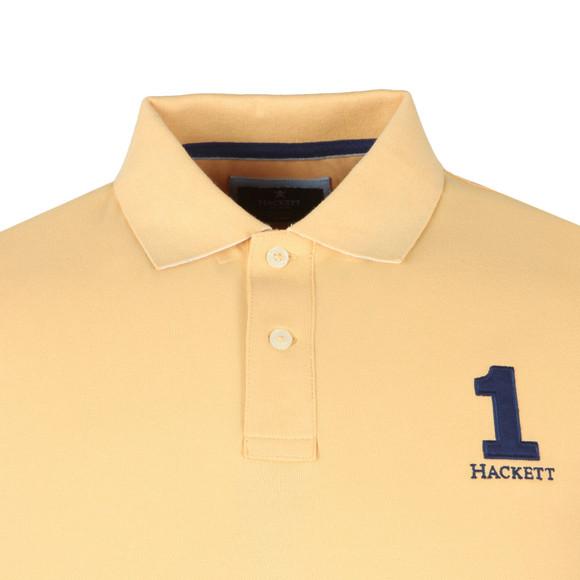 Hackett Mens Yellow S/S Classic Polo main image