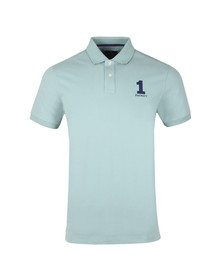Hackett Mens Blue S/S Classic Polo