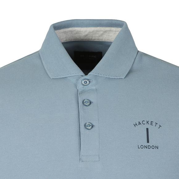 Hackett Mens Blue S/S MR Classic Polo main image
