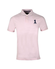 Hackett Mens Pink S/S Classic Polo