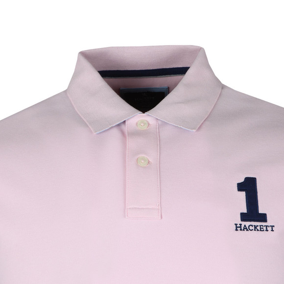 Hackett Mens Pink S/S Classic Polo main image