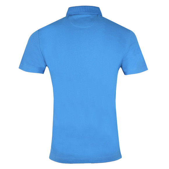 Hackett Mens Blue S/S Swim Trim Polo main image