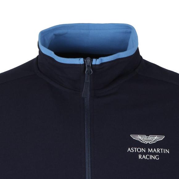 Hackett Mens Blue AMR Full Zip Sweat main image