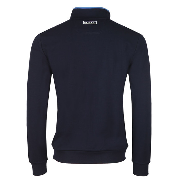 Hackett Mens Blue AMR Full Zip Sweat main image