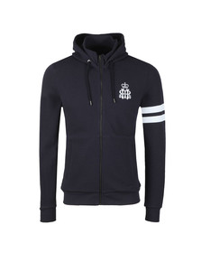 Hackett Mens Blue HRH Full Zip Hood