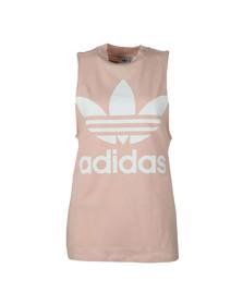 Adidas Originals Womens Pink Trefoil Tank