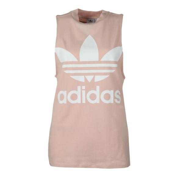 adidas Originals Womens Pink Trefoil Tank main image
