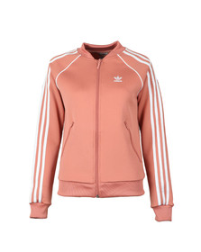 Adidas Originals Womens Pink Superstar Track Top