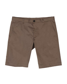 HUGO Mens Brown Hano3 Chino Short