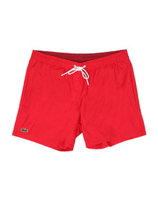 Lacoste Mens Red MH7092 Swim Short