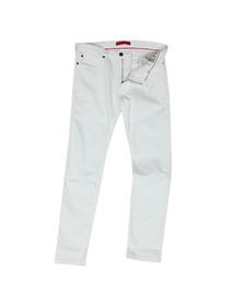 Hugo Mens White 734 Skinny Jean
