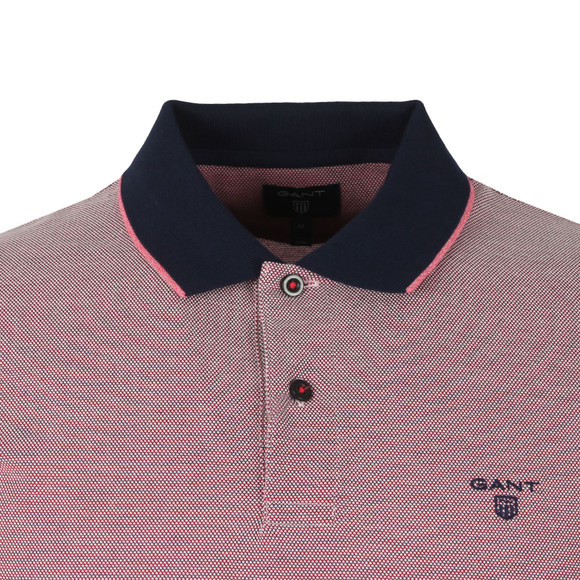Gant Mens Red S/S Oxford Rugger main image