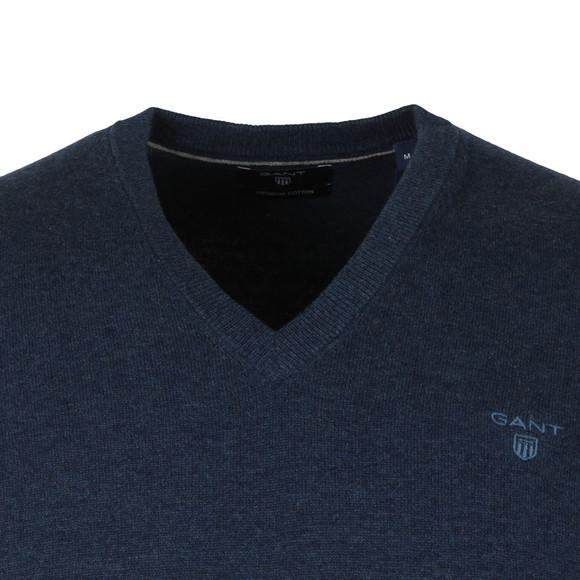 Gant Mens Blue Cotton Slipover main image