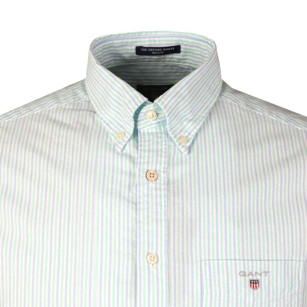 L/S 2 Colour Banker Shirt main image