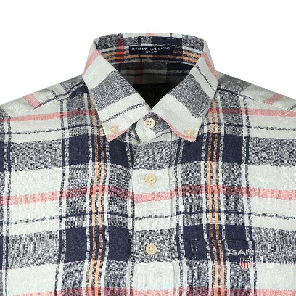 S/S Linen Madras Shirt main image