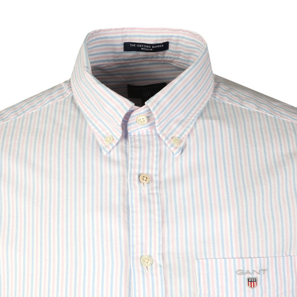 Gant Mens Pink L/S 2 Colour Banker Shirt main image
