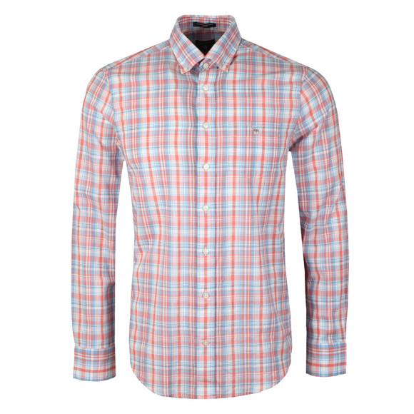 Gant Mens Blue Indian Madras Shirt main image