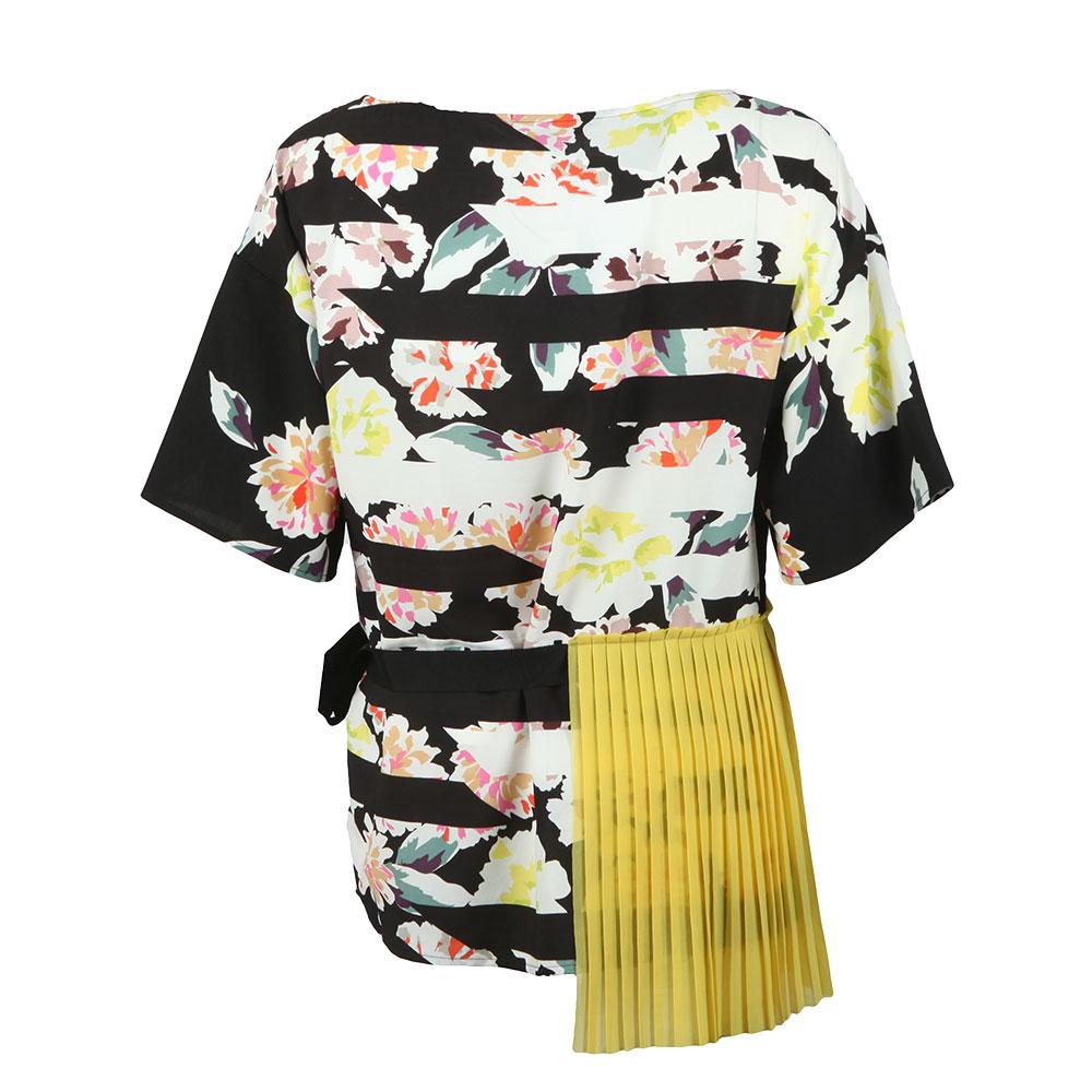 Enoshima Crepe Tie Waist Top main image