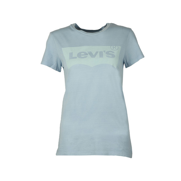 Levi's Womens Blue Perfect Logo Shirt main image