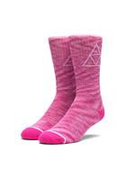 Melange Triple Triangle Socks