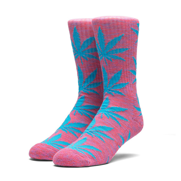 HUF Mens Pink Plantlife Socks main image