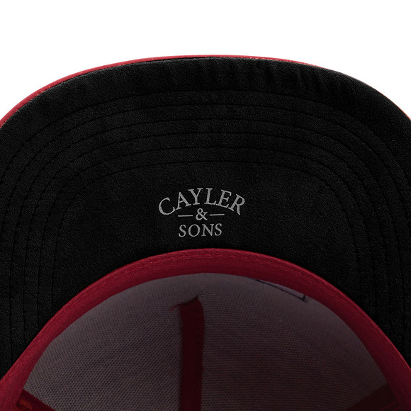 Cayler & Sons Mens Red Drop Out Cap main image