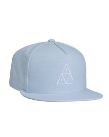 HUF Mens Blue Triple Triangle Snapback