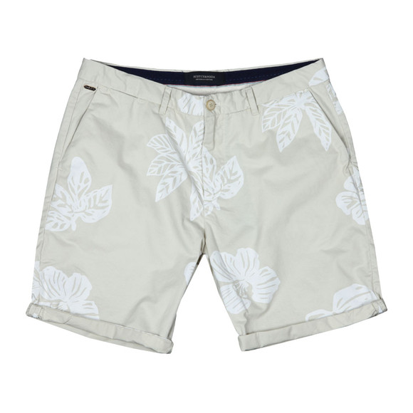 Scotch & Soda Mens Beige Classic Chino Short main image