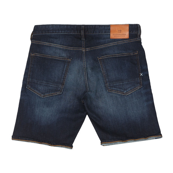 Scotch & Soda Mens Blue Ralston Denim Shorts main image