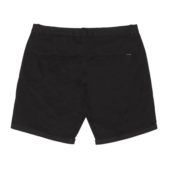 Scotch & Soda Mens Black Classic Chino Short main image