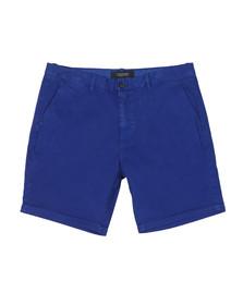 Scotch & Soda Mens Blue Classic Chino Short