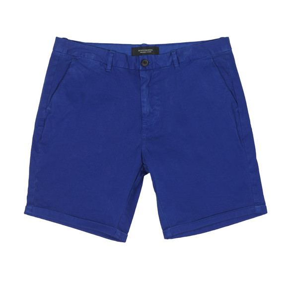 Scotch & Soda Mens Blue Classic Chino Short main image