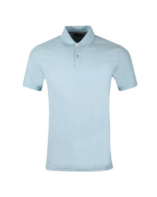 J.Lindeberg Mens Blue Troy Clean Pique Polo Shirt