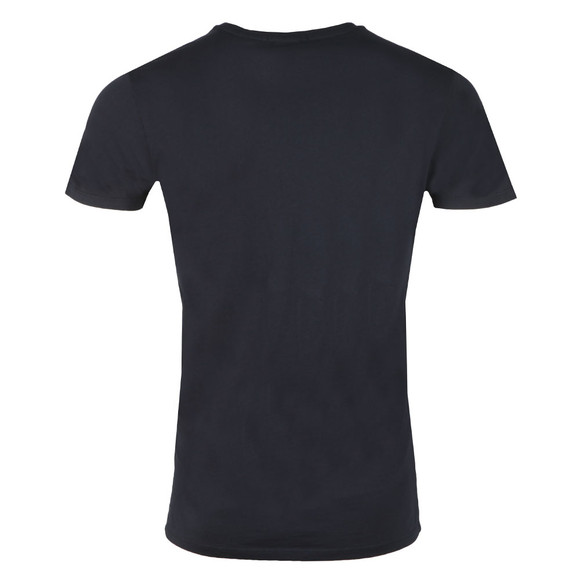 Scotch & Soda Mens Blue Classic Crew Neck T Shirt main image