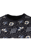 Scotch & Soda Mens Blue Classic Crew Neck Tee