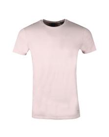 Scotch & Soda Mens Pink Classic Crew Neck T Shirt